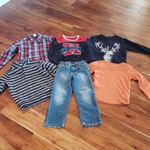 GAP & Old Navy Boys 4T Lot